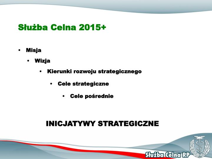 Służba Celna 2015+