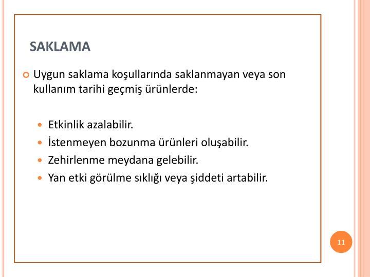 saklama