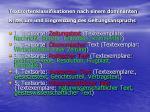 textsortenklassifikationen nach einem dominanten kriterium und eingrenzung des geltungsanspruchs1
