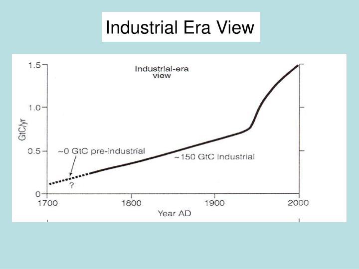Industrial Era View