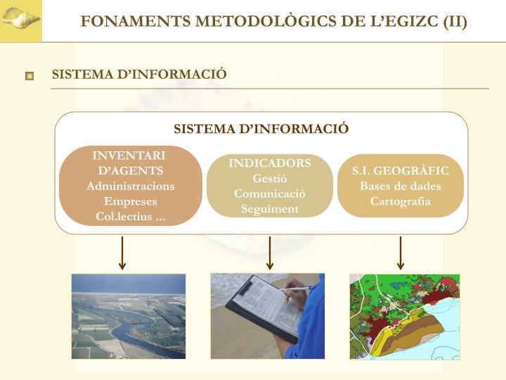 FONAMENTS METODOLÒGICS DE L'EGIZC (II)