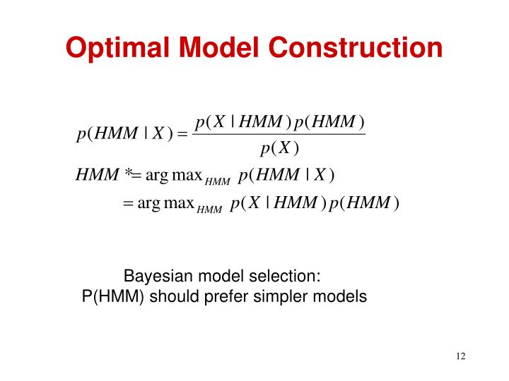 Optimal Model Construction
