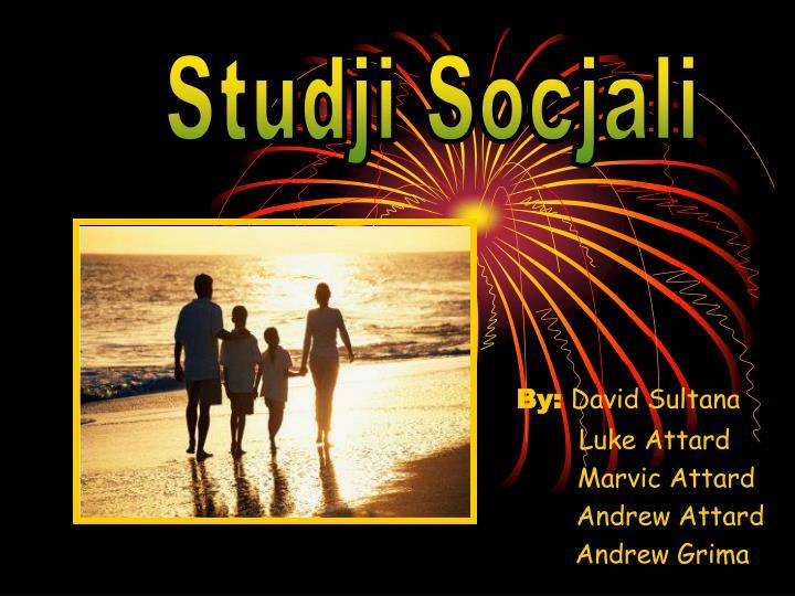 Studji Socjali