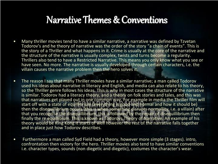 themes and narrative elements Every story has basic components: characters, setting, plot, theme, and conflict these elements answer the basic questions: who what when where.