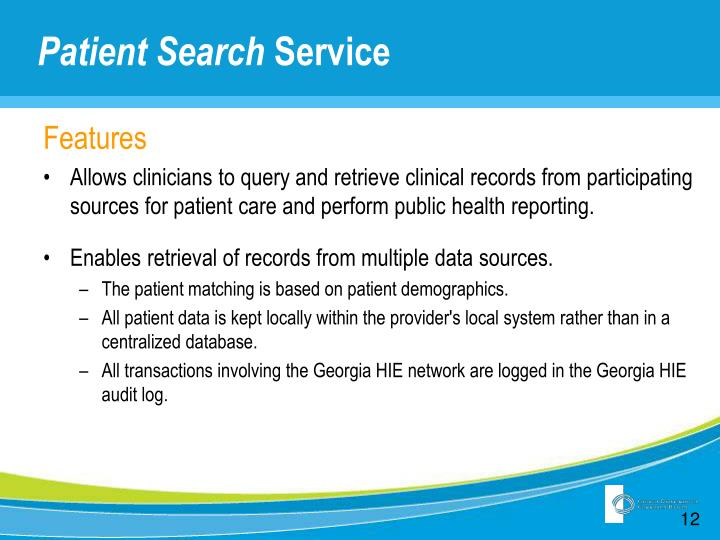 Patient Search