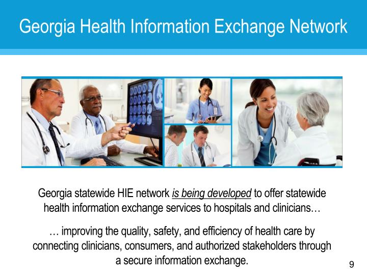 Georgia Health Information Exchange Network