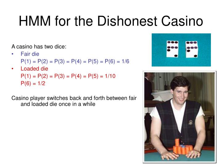 HMM for the Dishonest Casino