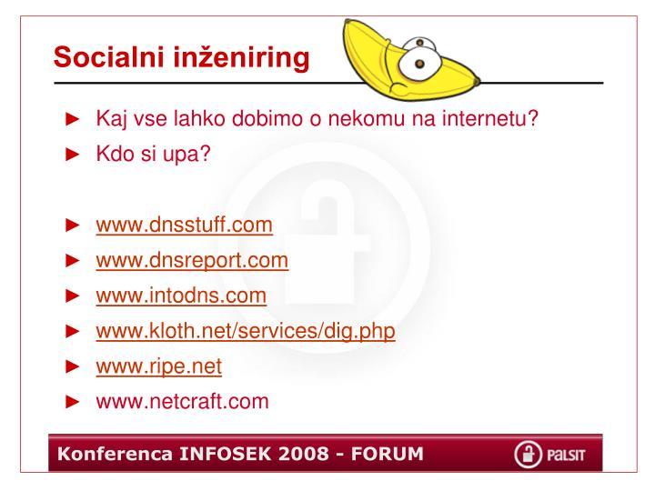 Socialni inženiring