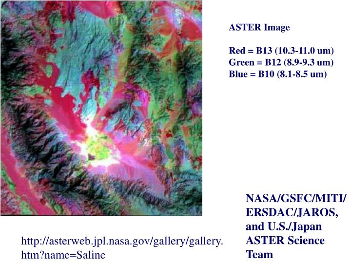 ASTER Image
