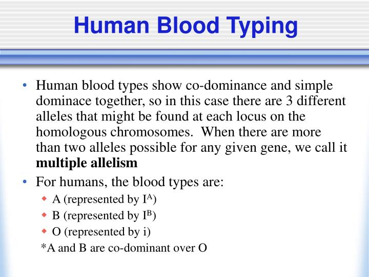 Human Blood Typing