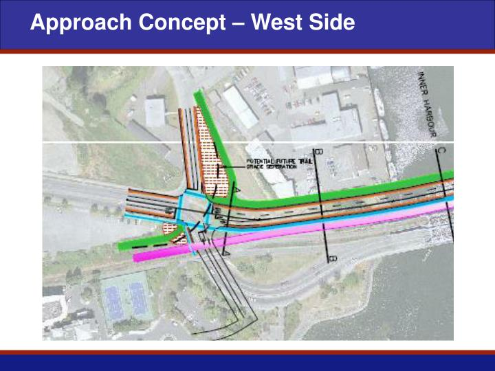 Approach Concept – West Side
