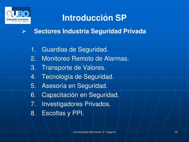 Introducción SP