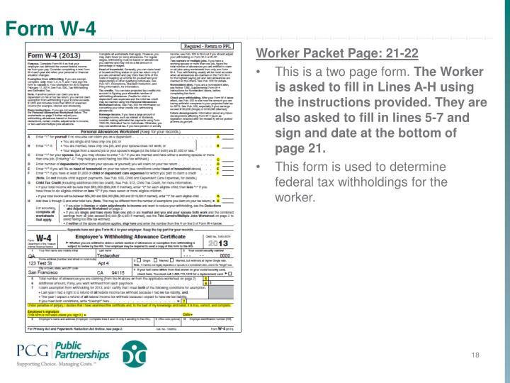 Form W-4