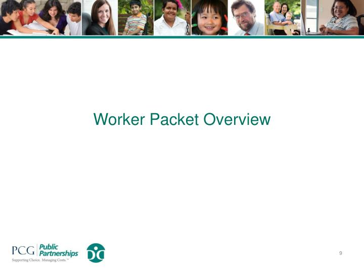 Worker Packet Overview