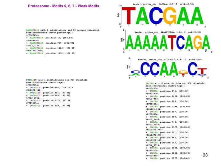 Weeder, protea_uig, TACGAA, 0.7, 2, s=14(@0,90)