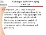 challenges before developing countries