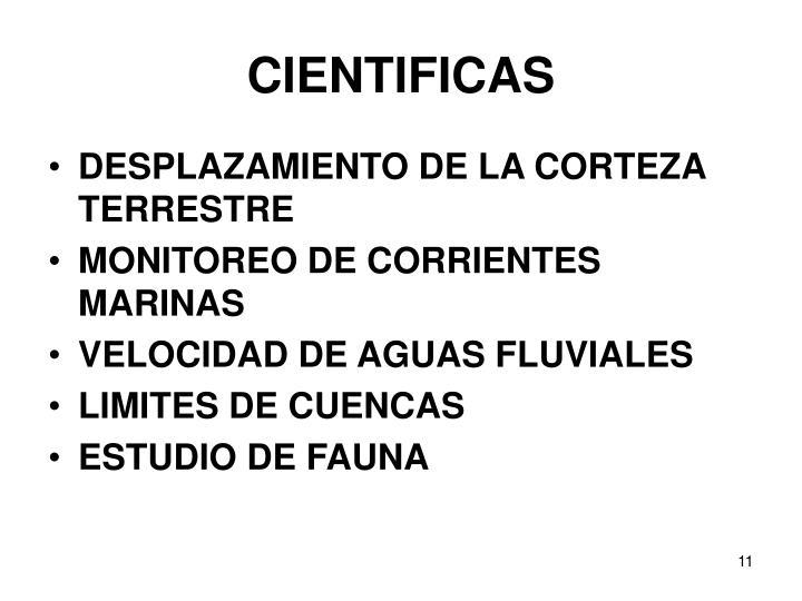 CIENTIFICAS