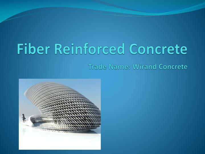 virgin What reinforced is fiber