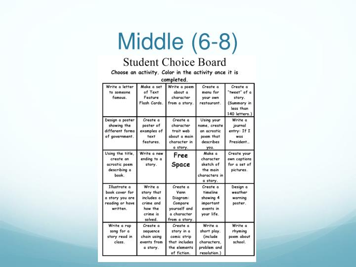 Middle (6-8)