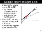 domino theory of regionalism2