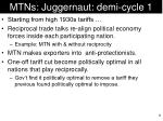 mtns juggernaut demi cycle 1