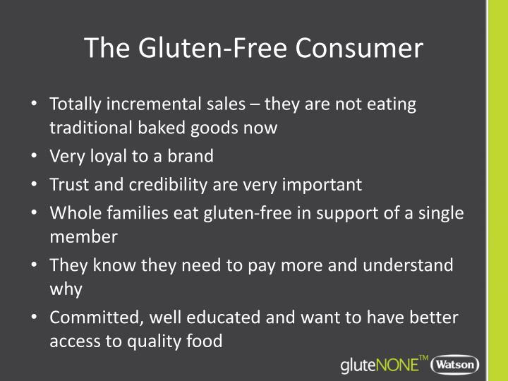 The Gluten-Free Consumer