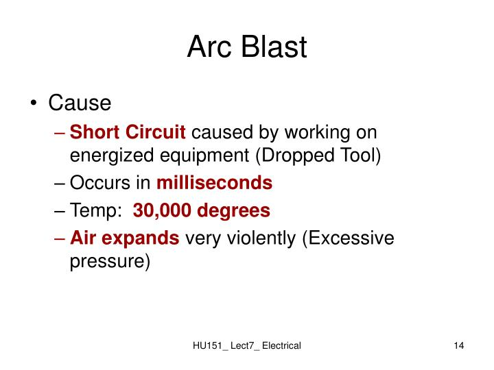 Arc Blast
