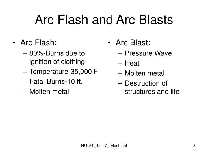 Arc Flash: