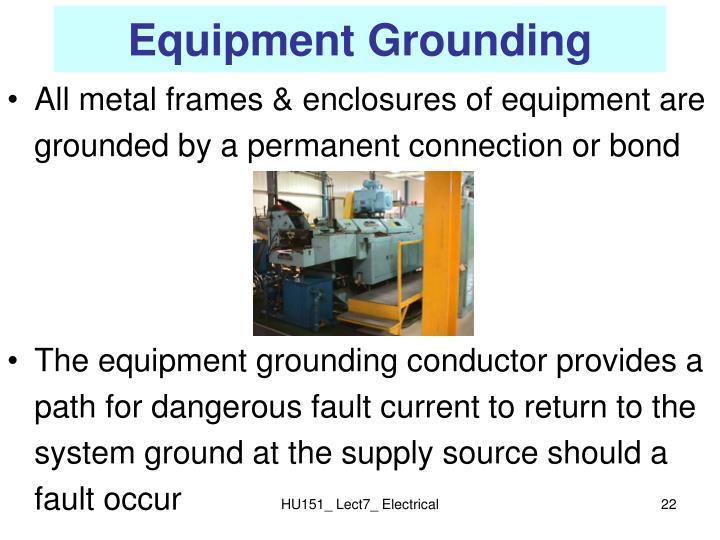 Equipment Grounding