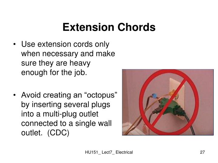 Extension Chords