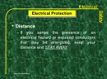 electrical protection1