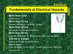 fundamentals of electrical hazards2