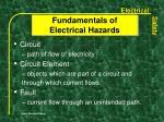 fundamentals of electrical hazards5