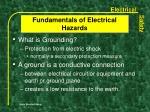 fundamentals of electrical hazards6