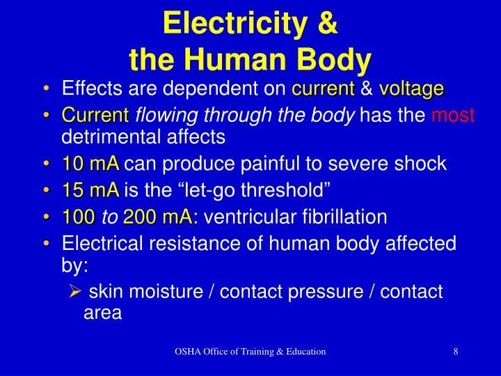 Electricity &
