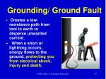 grounding ground fault