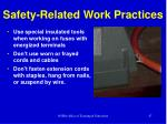 safety related work practices1