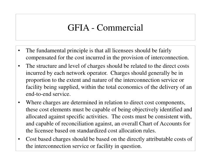 GFIA - Commercial