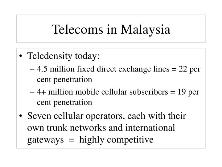 Telecoms in Malaysia