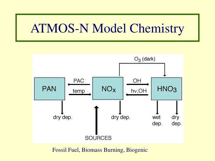 ATMOS-N Model Chemistry