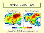 gctm vs atmos n
