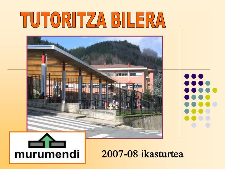 TUTORITZA BILERA