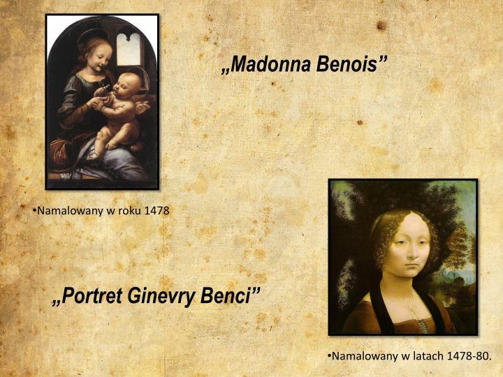 """""""Madonna Benois"""""""