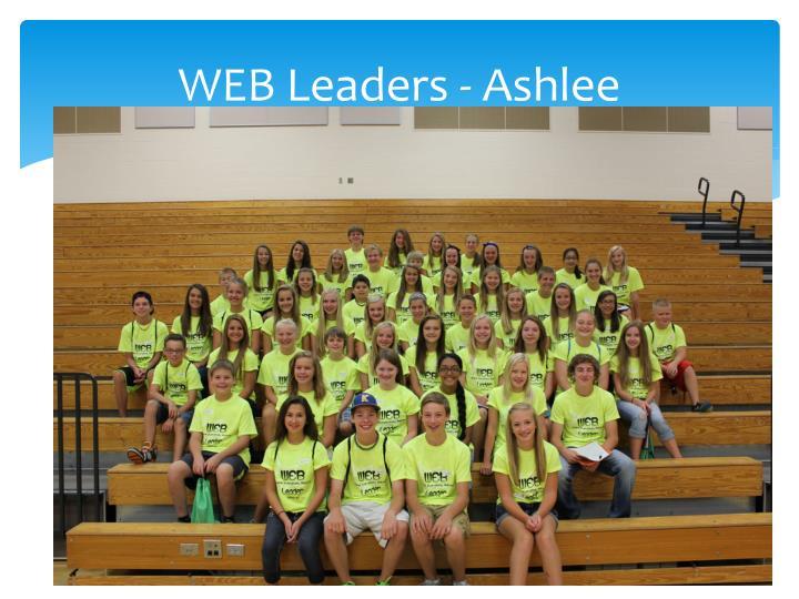 WEB Leaders - Ashlee