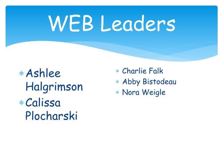 WEB Leaders
