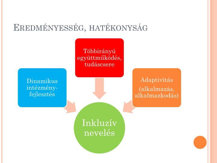 Eredményesség, hatékonyság