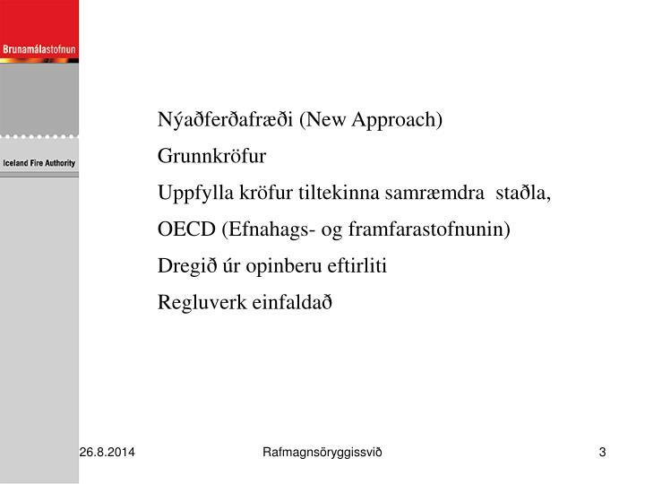 Nýaðferðafræði (New Approach)