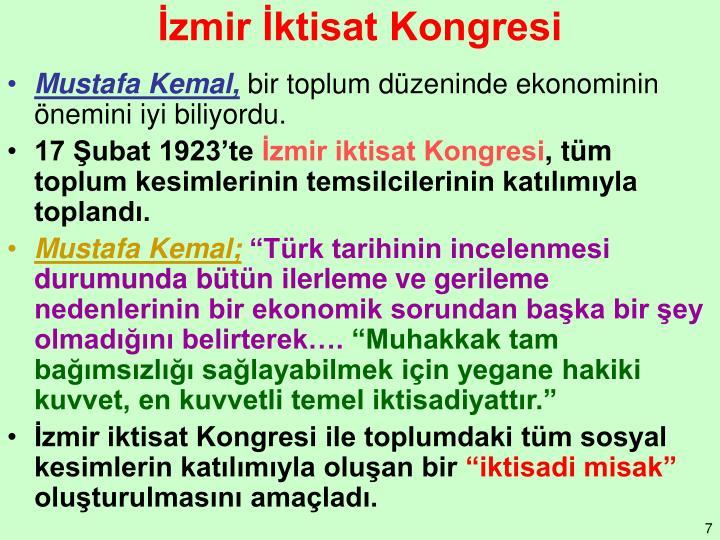 İzmir İktisat Kongresi
