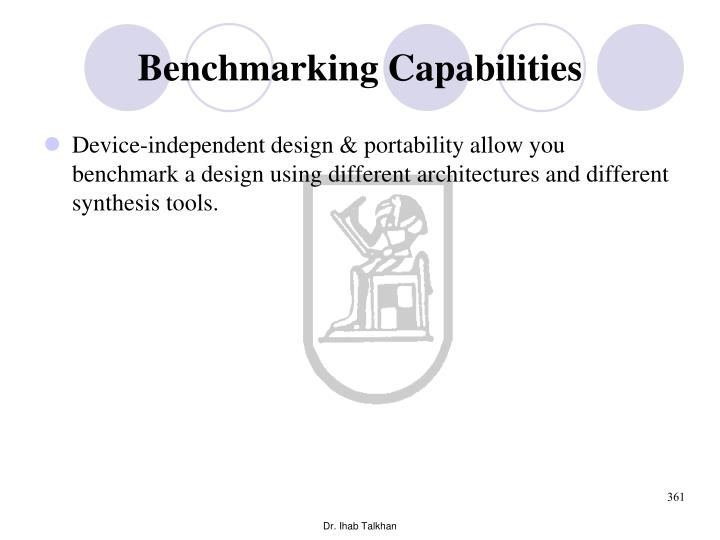 Benchmarking Capabilities