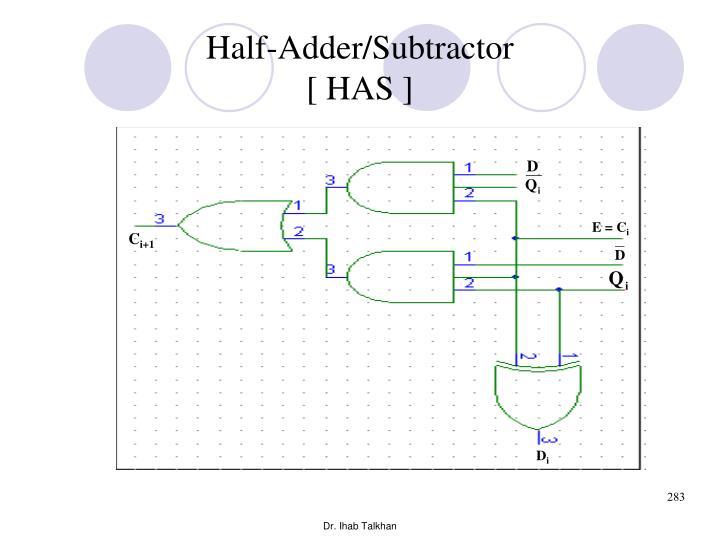 Half-Adder/Subtractor